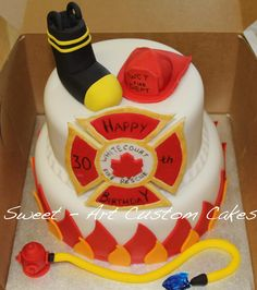Would love to do this for my firefighter hubby's retirement party!