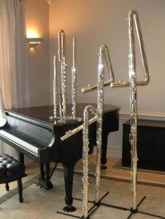 flutes get bigger.