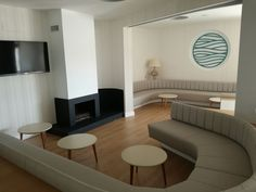 restaurante del hotel gran sol en zahara de los atunes por inou mobiliario