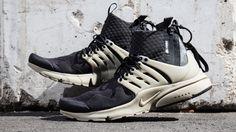 The NikeLab Air Presto Mid x Acronym sneaker takes sleek ninja swag to another…