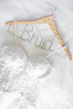 Hanger for bride. Clothes Hanger, Wedding Ideas, Bride, Vintage, Coat Hanger, Wedding Bride, Clothes Hangers, The Bride, Bridal