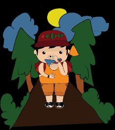 Do something 'slurrpp' when camping..