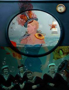Sirènes by Brigitte Champigny