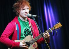 ed sheeran. Your music in my head all day errday. i love u!!!!!
