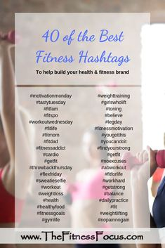 Beachbody Coach Daily To-Do List with Printables Forty of the best health and fitness related hashtags to use on social media. Fitness Blogs, Fitness Video, Fitness Motivation, Health And Fitness Articles, Health Fitness, Health Tips, Health Blogs, Fitness Brand, Diy Home