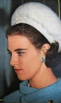 Anne-Marie of Greece at the reception at the City Hall of Copenhagen for her sister Princess Benedikte and Prince Richard, who married on the February, 1968 Greek Royal Family, Danish Royal Family, Casa Real, Princess Alexandra, Crown Princess Mary, Royal Life, Royal House, Constantine Ii Of Greece, King George I
