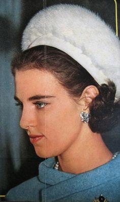 Princesse Anne Marie de Danemark (°1946), reine de Grèce.