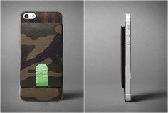 IPHONE 5 CAMO CARD CASE | BY KILLSPENCER