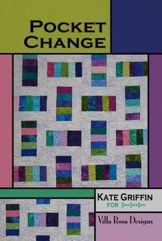 Pocket Change Quilt Pattern from Villa Rosa Designs