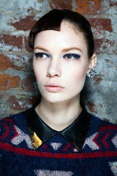 Beleza do desfile de outono-inverno 2013/14 da Thakoon na Semana de Moda de NY