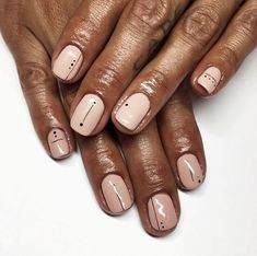 Semi-permanent varnish, false nails, patches: which manicure to choose? - My Nails Minimalist Nails, Nail Manicure, Gel Nails, Nail Polish, Cute Nails, Pretty Nails, Light Pink Nails, Nagel Gel, Stylish Nails