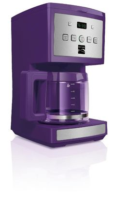 Purple Kitchen Appliances Purple Kitchen Appliances Detail There are so many shades and hues of purple that sometimes it is hard to fin. Kitchen Pantry, Kitchen Items, Kitchen Decor, Kitchen Appliances, Kitchen Stuff, Discount Appliances, Purple Kitchen Accessories, Farmhouse Style Kitchen, Küchen Design