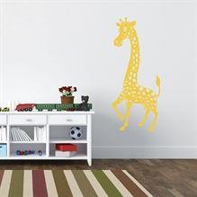 Wallsticker Giraf til Børneværelset