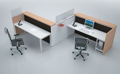 Alea Office EOS Reception Dual Station, 8 week lead time