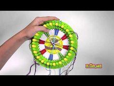 My Circle of Creativity Kumihimo Bracelet Tutorial!!! - YouTube