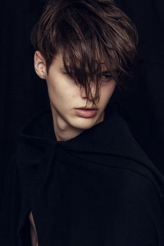 Darwin Gray| Photographed byJoan Michelfor... - Strange Foreign Beauty