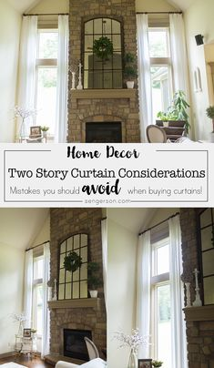How to Choose the Right Color Fabric for Two Story Curtains Farmhouse Style