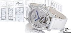 We are pleased to introduce the Chopard Happy Sport #Tourbillion Joaillerie. The #watch embodies the skilled perfection for the Haute Joaillerie workshops with the technical virtuosity of Haute Horlogerie. #Baselworld2014 #Chopard
