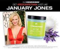 #olehenriksen #redcarpet Best skin care line ever! Need to try this stuff though