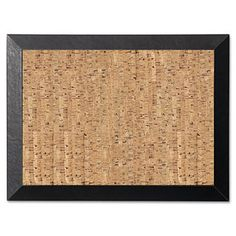 Shop for MasterVision Natural 36 x 24 Cork/Black Bulletin Board. Get free delivery at Overstock.com - Your Online Art