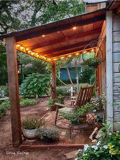 Gazebo On Deck, Curved Pergola, Pergola Attached To House, Covered Pergola, Pergola Kits, Pergola Ideas, Porch Ideas, Railing Ideas, Gardens