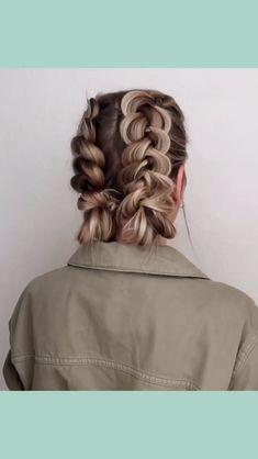 53 Box Braids Hairstyles That Rock - Hairstyles Trends Braided Hairstyles Updo, Rock Hairstyles, Pretty Hairstyles, Simple Hairstyles, Medium Hair Styles, Short Hair Styles, Box Braids Styling, Braids For Short Hair, Hair Videos