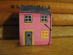 One Little Pink Cottage by jamjarart on Etsy, $10.00 by Joy Williams.