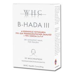 <ul>  <li>Unterstützt die Haut nachhaltig und von innen heraus</li>  <li>Für den Erhalt der natürlichen Elastizität und Feuchtigkeit und eines gesunden Erscheinungsbildes der Haut</li>  <li>Der ultimative Omega-Komplex speziell für die Frau</li>  <li>GLA-Konzentrat aus Borretschöl als hochdosierter Fettsäuren-Komplex mit OMEGA-3 + OMEGA-7 + OMEGA-9</li>  </ul> Omega 3, Fett, Cover