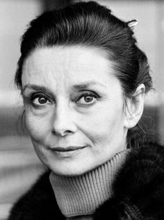 Audrey Hepburn- I love to see her in pictures when she is aged, it reminds me that she was so much more than a fashion icon