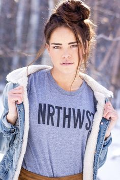 Show your love of the NRTHWST in this unisex, relaxed fit heather gray tee. This is the tee that started it all, and the origin of the popular hashtag #nrthwst! This tee is a triblend construction wit