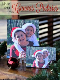 Turn favorite memories into perfect gifts when you discover how to make your own canvas pictures! #SaveYourMemories ad
