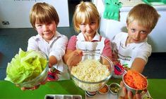 Ideas for cooking with kids