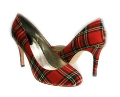 Royal Stewart shoes... If only I could walk in heels!