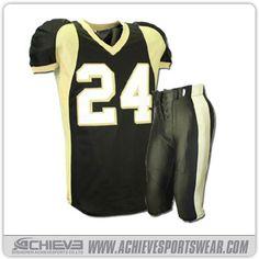 12aad3fd0 no MOQ custom American football jersey. Achieve Sublimation Sportswear