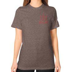 i Feel Like Brady Unisex T-Shirt (on woman)