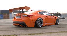 Rocket Bunny RCF Orange