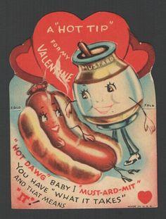 Vintage Valentine Card 1942
