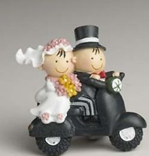Bomboniera segnaposto calamite SPOSI MOTO calamita matrimonio bomboniera regalo