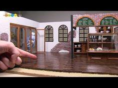 Barbie dollhouse - miniature kitchen stop motion (바비 미니어처 돌하우스) - YouTube