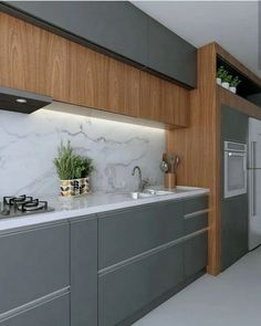 Trendy Kitchen Design Ideas For Your Home This Year ~ Beautiful House Kitchen Room Design, Kitchen Cabinet Design, Home Decor Kitchen, Kitchen Interior, Home Kitchens, Kitchen Cabinets For Sale, Painting Kitchen Cabinets, Island Kitchen, Oak Cabinets