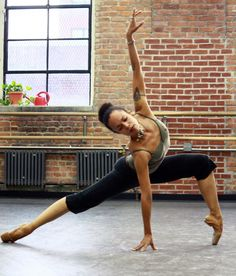 """""""Dance. Like no one is watching. Let your focus be completely in love with this NOW moment. Watch the negativity dissolve. Watch your body react. See how you start to smile. Then you realise (Real-I-Rise) that anything IS possible!""""    Photo: Francesca Harper - Fractured Beauty  Harlem Theater of Dance  Mbele TV"""