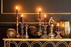 Console Table, Candle Holders, Chandelier, Ceiling Lights, Candles, Side Tables, Animal Kingdom, Instagram, Home Decor