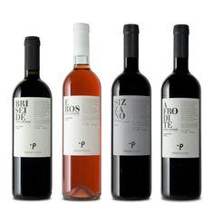 Design by caso graphic+direction for Paride Chionivi / Visual identity for small winery in Sizzano / Italy / 2010