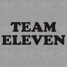 'Team Eleven' T-Shirt by