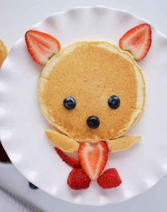 Creative Food Art For Kids You Can Make Yourself Food Art For Kids, Cute Food Art, Easy Food Art, Children Food, Creative Food Art, Creative Things, Creative Ideas, Toddler Meals, Kids Meals