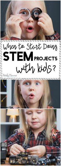 I so agree with this mom about when to start doing STEM projects with kids. So… I so agree with this mom about when to start doing STEM projects with kids. Steam Activities, Science Activities For Kids, Cool Science Experiments, Preschool Science, Toddler Preschool, Science Ideas, Stem Projects, Cool Kids, Nerdy