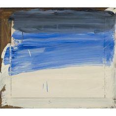 "briancypher: "" Howard Hodgkin Seaside, Oil on canvas 114 × 114 × 2 in 290 × 290 × 6 cm "" Art Basel Hong Kong, Howard Hodgkin, Gagosian Gallery, Hans Peter, Paintings Famous, Abstract Geometric Art, Found Art, Elements Of Art, Art Plastique"