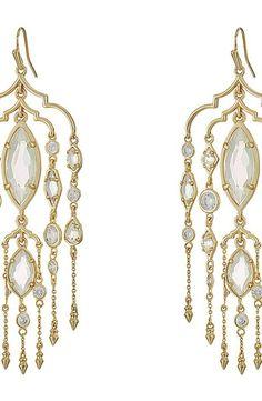 Nera Chandelier Earrings In Silver Kendra Scott Jewelry ...