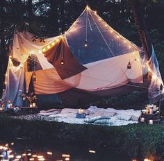 Camping: A Fun Time In Nature. How long has it been since you went camping? Camping provides a great opportunity to relax, enjoy nature, and reflect on your life. Summer Nights, Summer Vibes, Summer Bucket, Summer Picnic, Adventure Is Out There, Adventure Awaits, Stargazing, The Great Outdoors, In This Moment