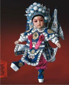 Yang Zonghao, a general from the Beijing Opera, by Adora 2009